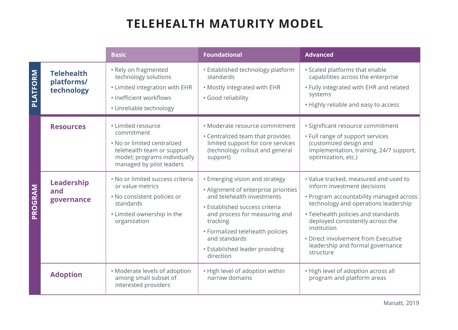 Maturity Model graphic